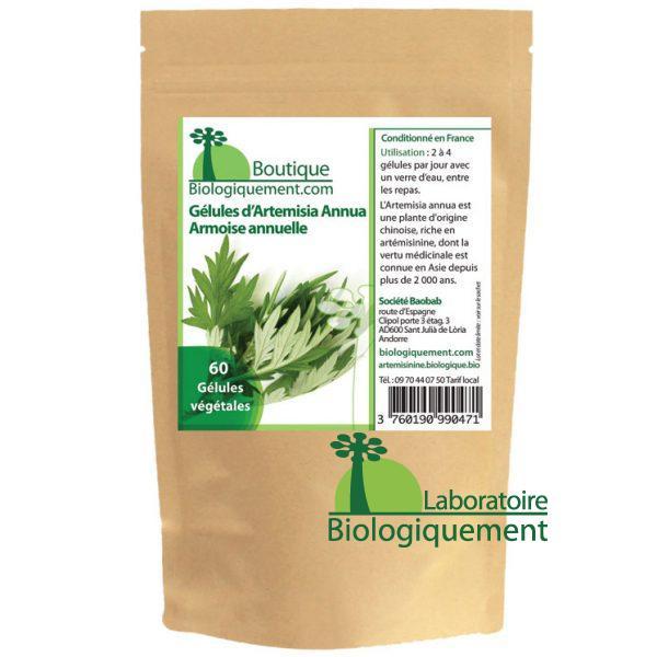 Acheter de l'armoise annuelle arteminisine sur la boutique bio en ligne www.biologiquement.com